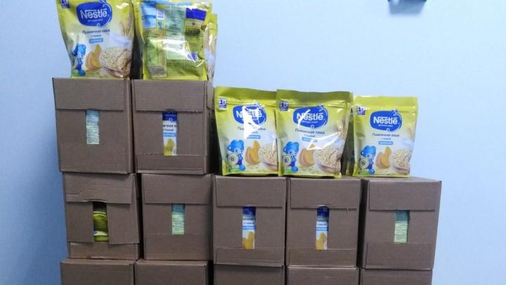 В челябинских поликлиниках начали бесплатно выдавать каши для малышей