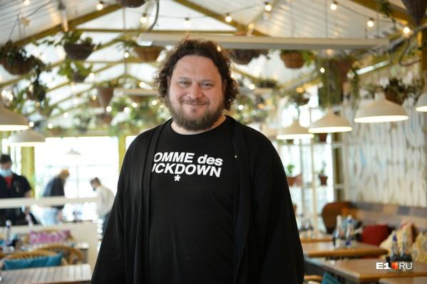 Кирилл Шлаен управляет 8 ресторанами в Екатеринбурге