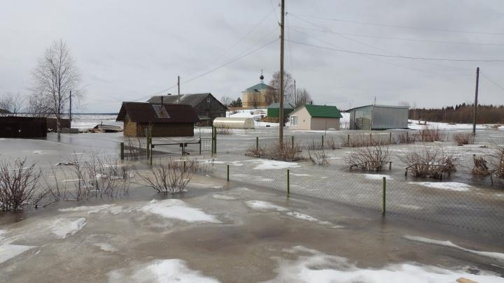 Ледоход в Архангельске ожидается после 27 апреля
