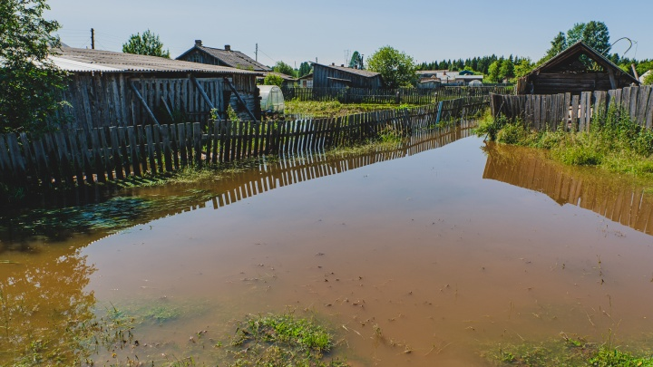 В Прикамье из-за аномально теплой погоды началось весеннее половодье