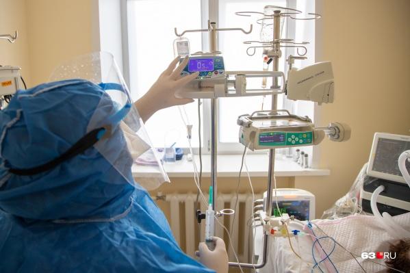 На базе 2 городской больницы Сызрани оборудуют 10 реанимационных коек со всем оборудованием