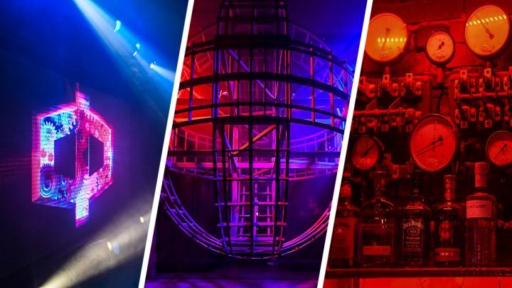Каждый угол — фотозона: рассматриваем интерьеры обновленного ночного клуба в центре Екатеринбурга