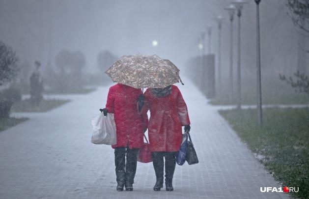 На Башкирию обрушится снег