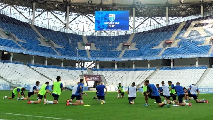 Главный тренер волгоградского «Ротора» укрепит тылы иностранными игроками