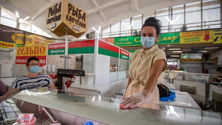 «Брала микрозаймы на макароны детям»: как торговцы Центрального рынка пережили месяц безработицы