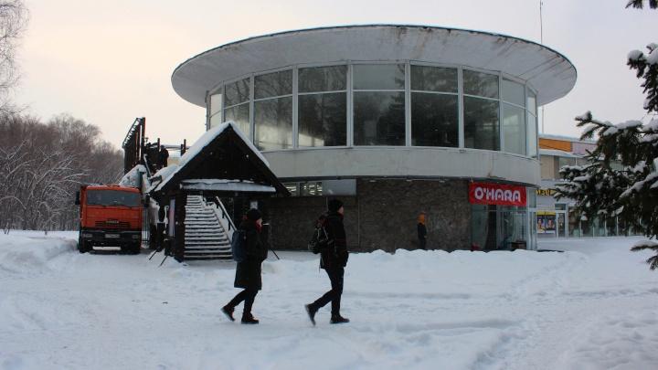 Место русского трактира в «поганке» Академгородка займет еврочайхана