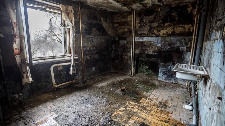 «Администрация долго откладывала»: в Волгограде вспомнили о расселении опасных домов-призраков