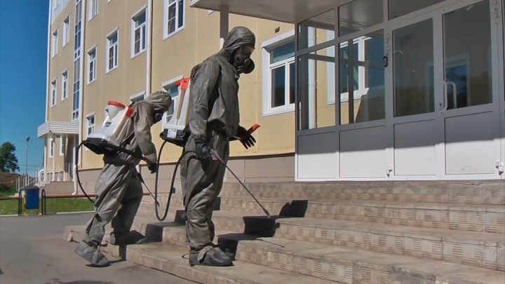 В ЧВВАКУШе после вспышки коронавируса показали, как готовятся принять курсантов из отпуска