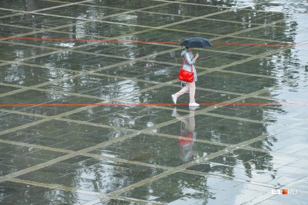 Лучше оставайтесь дома, а при выходе на улицу обязательно берите с собой зонт