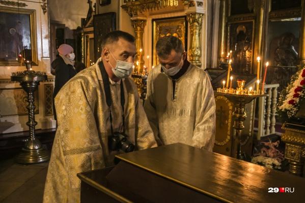 Эти священники в Соломбале ответственно подошли к организации праздника