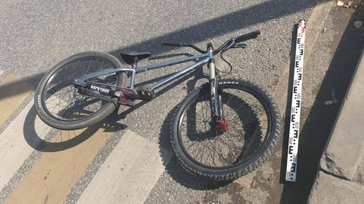 В Перми «Газель» сбила велосипедиста. Общественники считают, что причина в неправильной организации движения