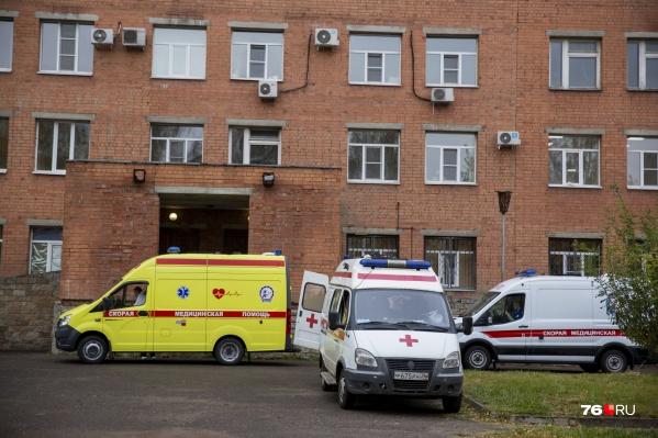 Бригады скорой помощи из районов области будут работать в Ярославле