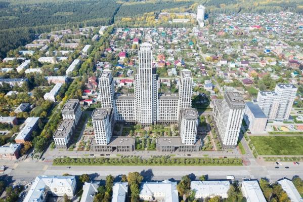 На Уралмаше появится квартал в духе сталинских высоток