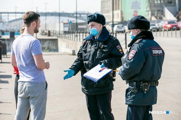 Иногда полицейские ограничиваются разъяснительной работой