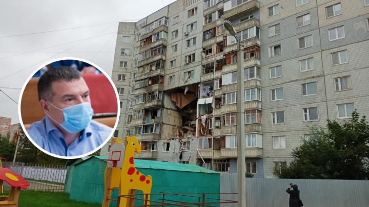 «Неприятно говорить об этом»: от взрыва газа в многоэтажке пострадала квартира ярославского депутата