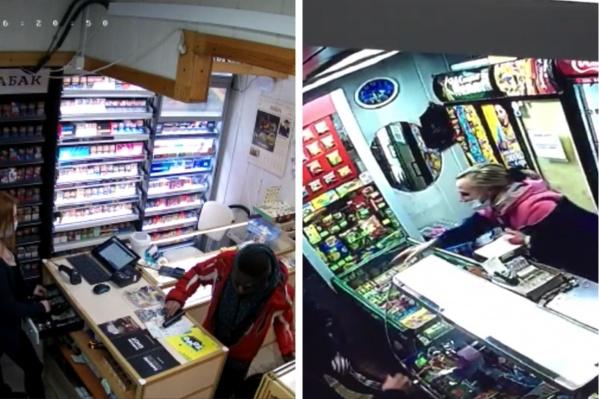 Молодые люди действовали в паре: один отвлекал продавца, второй доставал пневматический пистолет