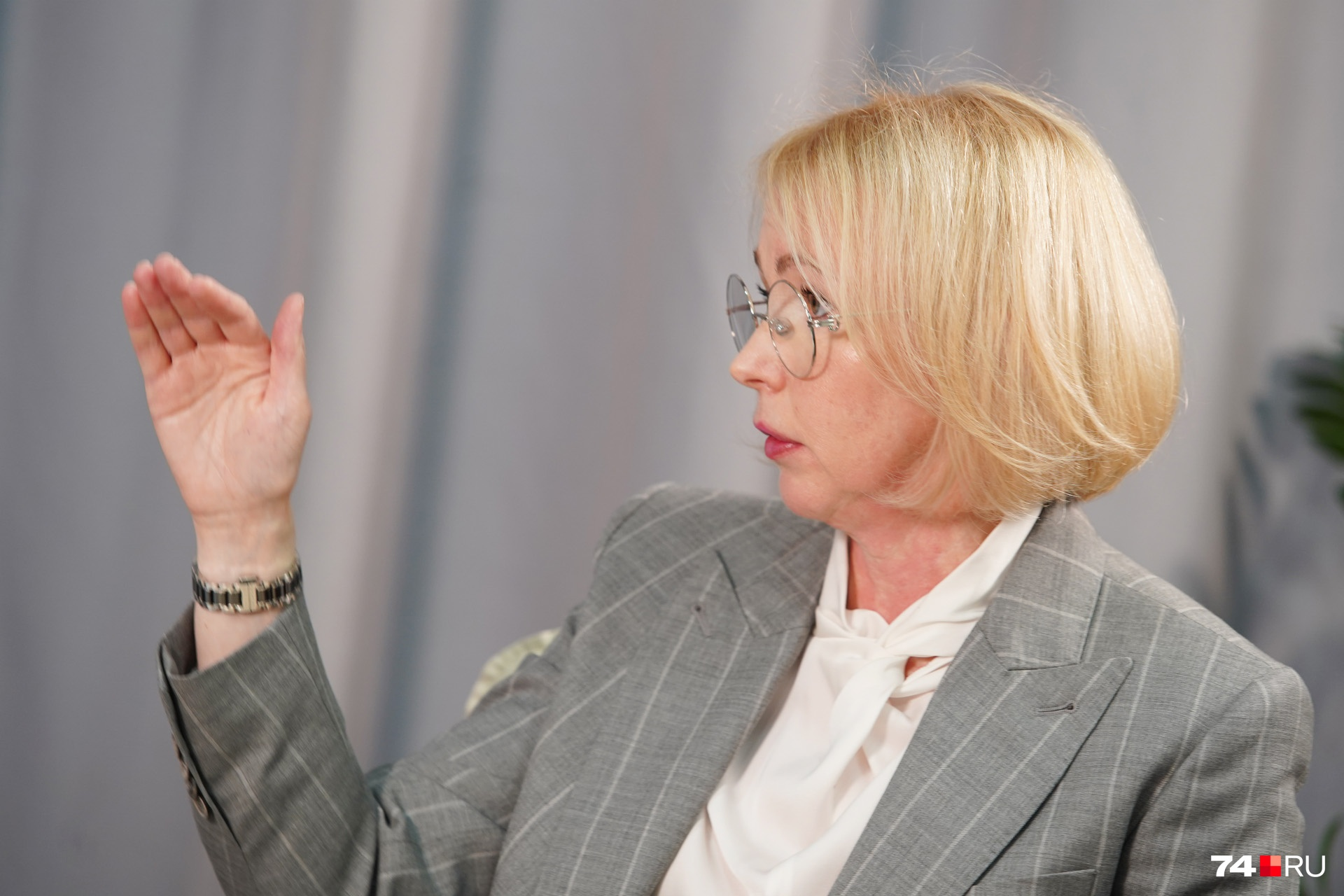 — Госпитализации держатся примерно на одном уровне уже две недели, — объясняет Ирина Гехт
