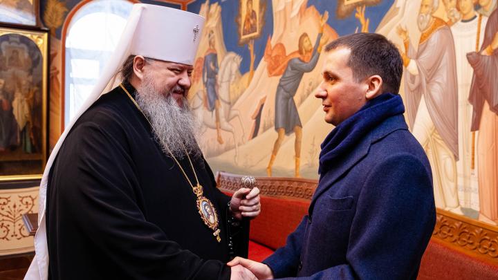 Духовное образование и юбилей Сийского монастыря: как еще врио губернатора обещал содействовать епархии?