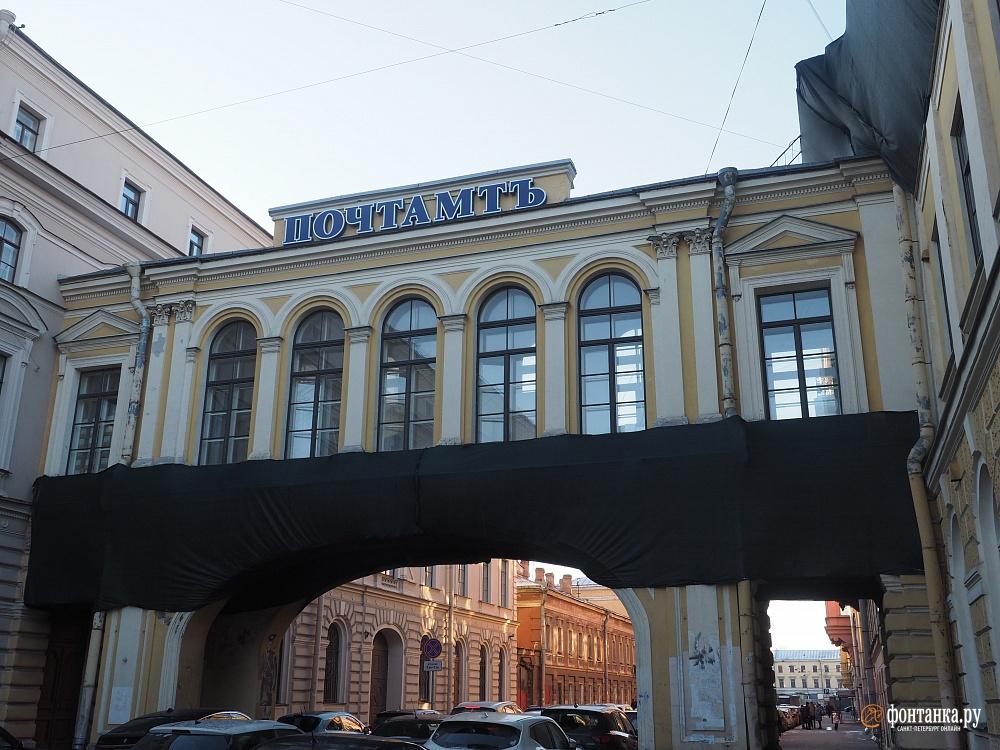 Гергиев зайдет на почту. Худрук «Мариинки» готовит на Почтамтской улице аналог «Альберт-Холла»