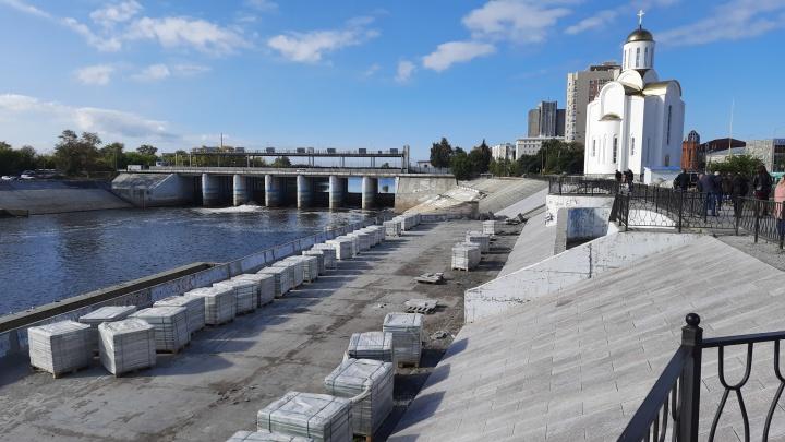 Тюменский подрядчик пообещал «не подвести» с ремонтом набережной в Кургане