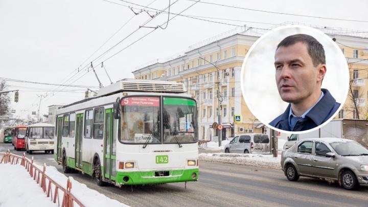 «Много ложной информации»: мэр Ярославля подробно рассказал о судьбе троллейбусов и будущем депо