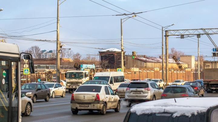 Московское шоссе будут перекрывать из-за ремонта