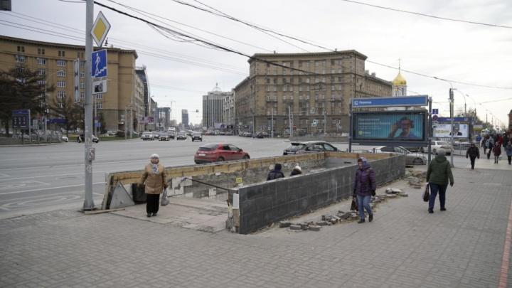 Теперь только по «зебре»: переход рядом с Первомайским сквером закрывают на ремонт