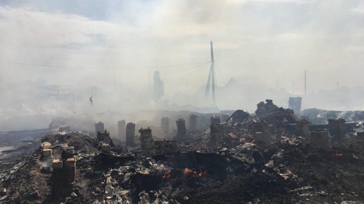 «Пепелище!»: самарский видеоблогер снял сгоревший цыганский поселок с высоты