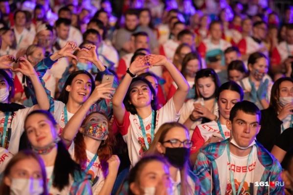На фестиваль в Ростов приехало около 2000 человек из десятков регионов страны