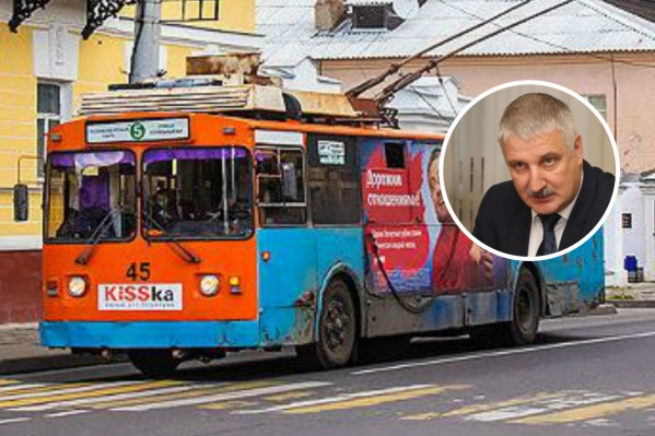 Глава Рыбинска Денис Добряков объяснил, за что в городе «выгоняют» троллейбусы с 5-го маршрута