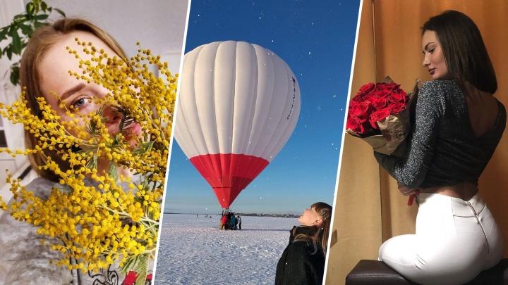 Богини с цветами и пистолетом: смотрим, как северянки показали свои праздничные выходные в Instagram
