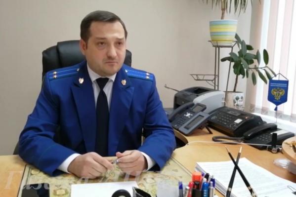 Заместитель прокурора Каменска-Шахтинского Роман Гусев