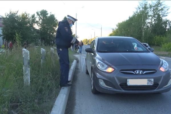 Водитель пытался избежать наезда, вывернув руль