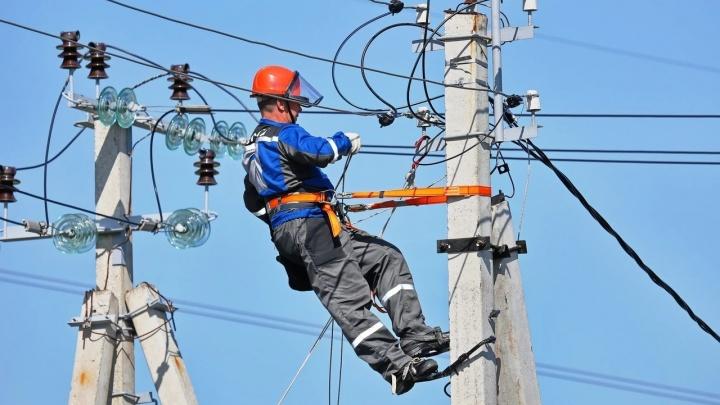 В нескольких районах Кургана снова отключили электричество