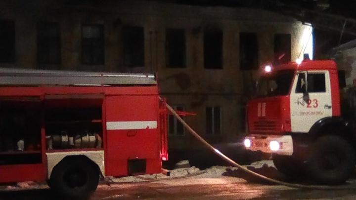 Пожар в Тутаеве: люди раздетыми выскакивали из дома на мороз
