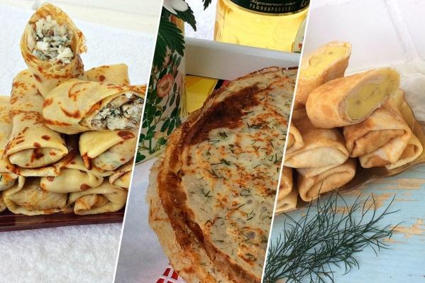 В этом году ярославцы делают ставку на несладкие рецепты