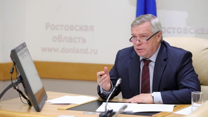 Голубев поручил сажать на карантин приезжающих в Ростовскую область