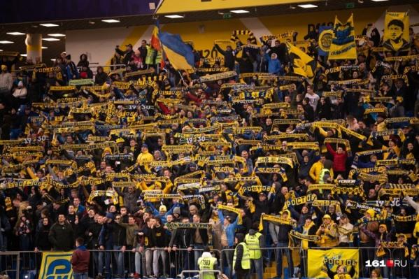 Последний матч на «Ростов Арене» был сыгран 15 марта. В этот день «Ростов» проиграл «Локомотиву» со счетом 1:3