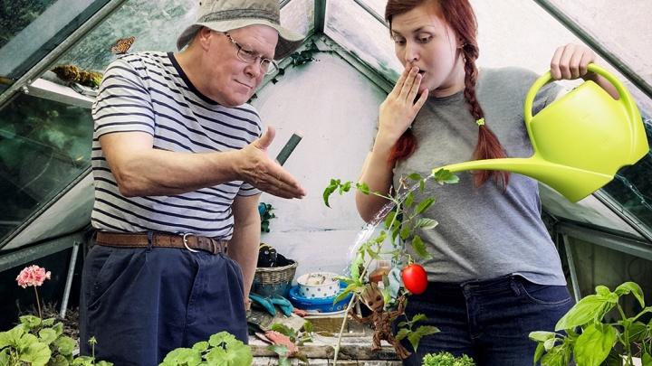 «Как можно выращивать овощи на балконе?»: англичанин поделился с сибиряками секретами огородничества