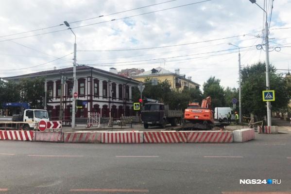 Раскопки ведёт ООО Фирма «Блик»