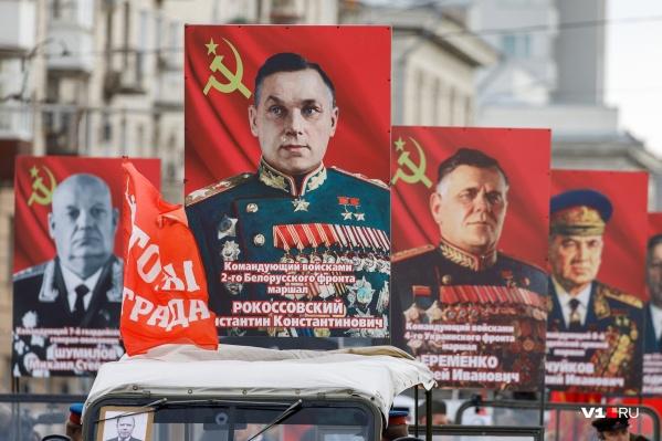 В общем строю сегодня — больше сотни героев Советского Союза