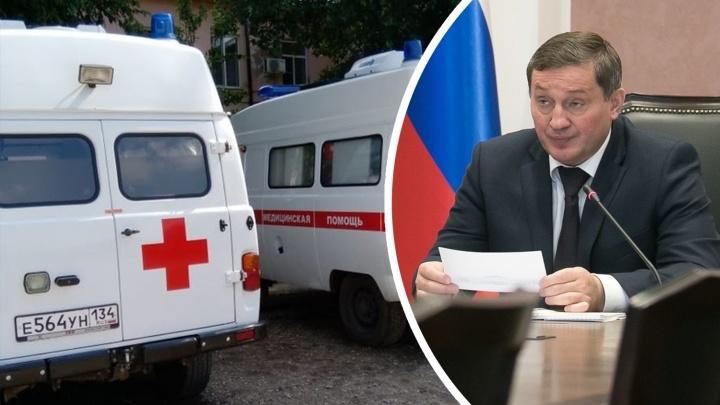 Вопреки Путину и Бочарову: водителям скорой помощи Нехаевской ЦРБ не хотят платить за работу с COVID-19