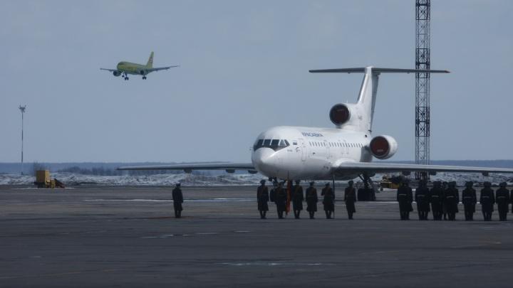 Птица попала в самолет «ЮТэйр», летевший из Сургута в Минводы