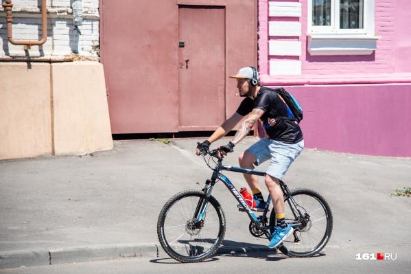 В начале недели можно смело отправляться на велопрогулки — погода их не испортит