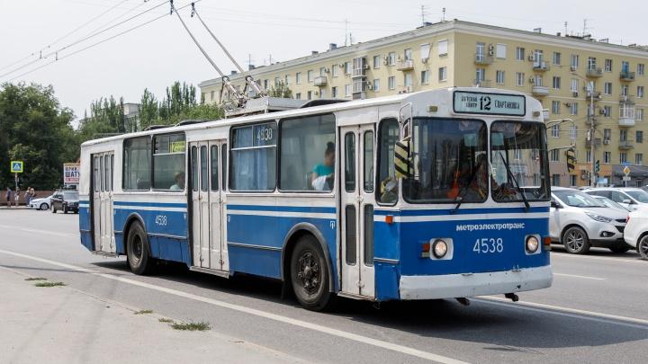В Волгограде ликвидировали еще один троллейбусный спецмаршрут