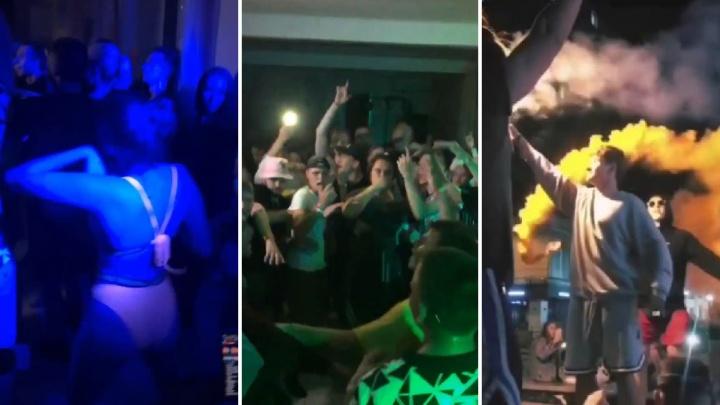 В Екатеринбурге полиция разогнала подпольную вечеринку фанатов Макса Коржа