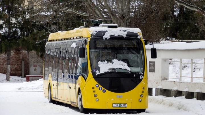 В Самаре назвали стоимость проезда в электробусе