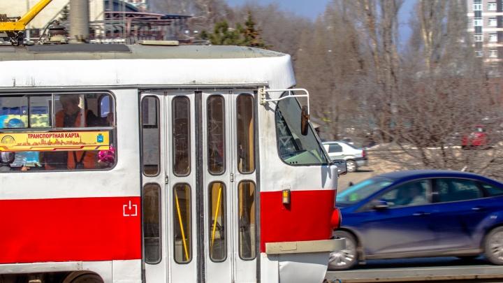 В Самаре приостановили движение трамваев из-за аварийных работ