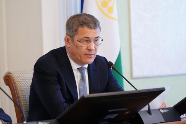 Хабиров подписал указ о помощи