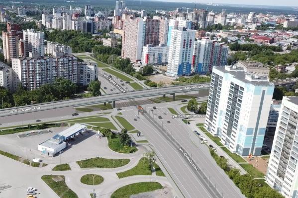 На перекрестке с шоссе Космонавтов появится двухуровневая развязка